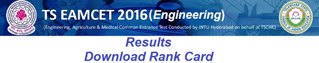TS EAMCET Engineering Results