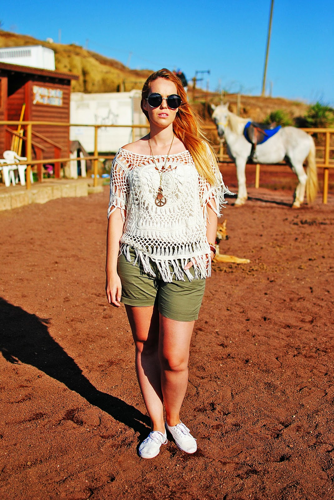 #CyATenerife, ganchillo, nery hdez, look sport, crochet , 80spurple, look para montar a caballo