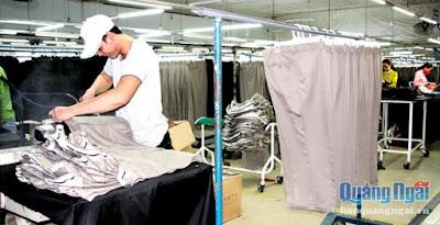 Vinatex Đức Phổ - Dung Quất: Hàng ngàn việc làm chờ người lao động
