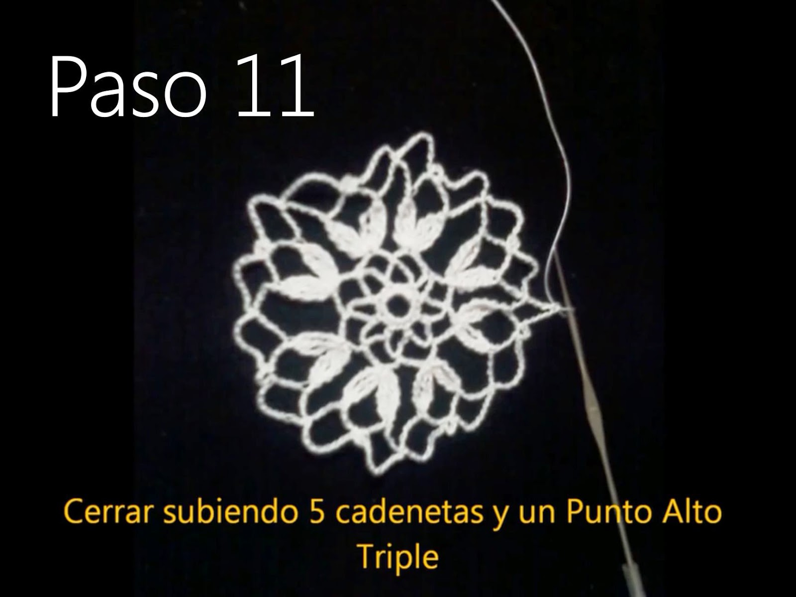 Tapete Flor Paso 11