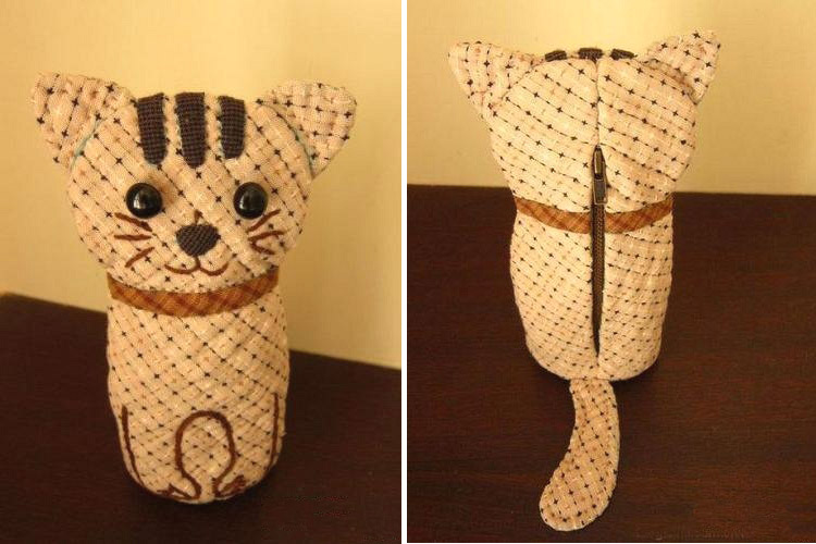 Bag Cat Quilting. DIY Tutorial with Photos.