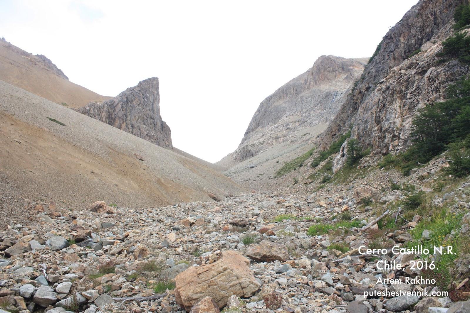 Перевал в горах Чили