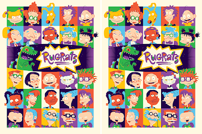 Rugrats Screen Print by Dave Perillo x Nickelodeon x Mondo