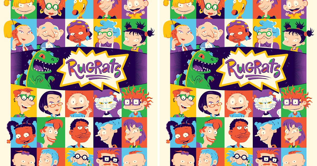 The Blot Says...  Rugrats Screen Print by Dave Perillo x Nickelodeon x Mondo cbafc1873c1a