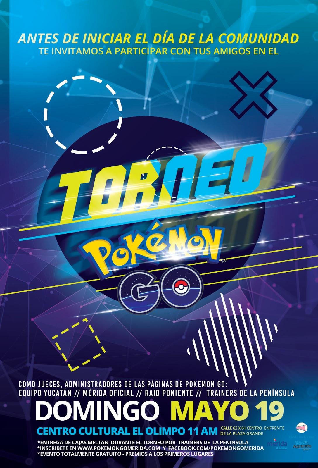 Torneo Pokémon Go Mérida - Día de la Comunidad