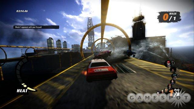 لعبة السباقات و المطاردة الرهيبة Fireburst 2012