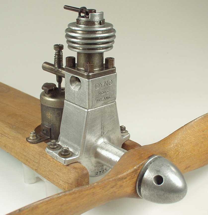 Vintage Model Airplane Engine 98