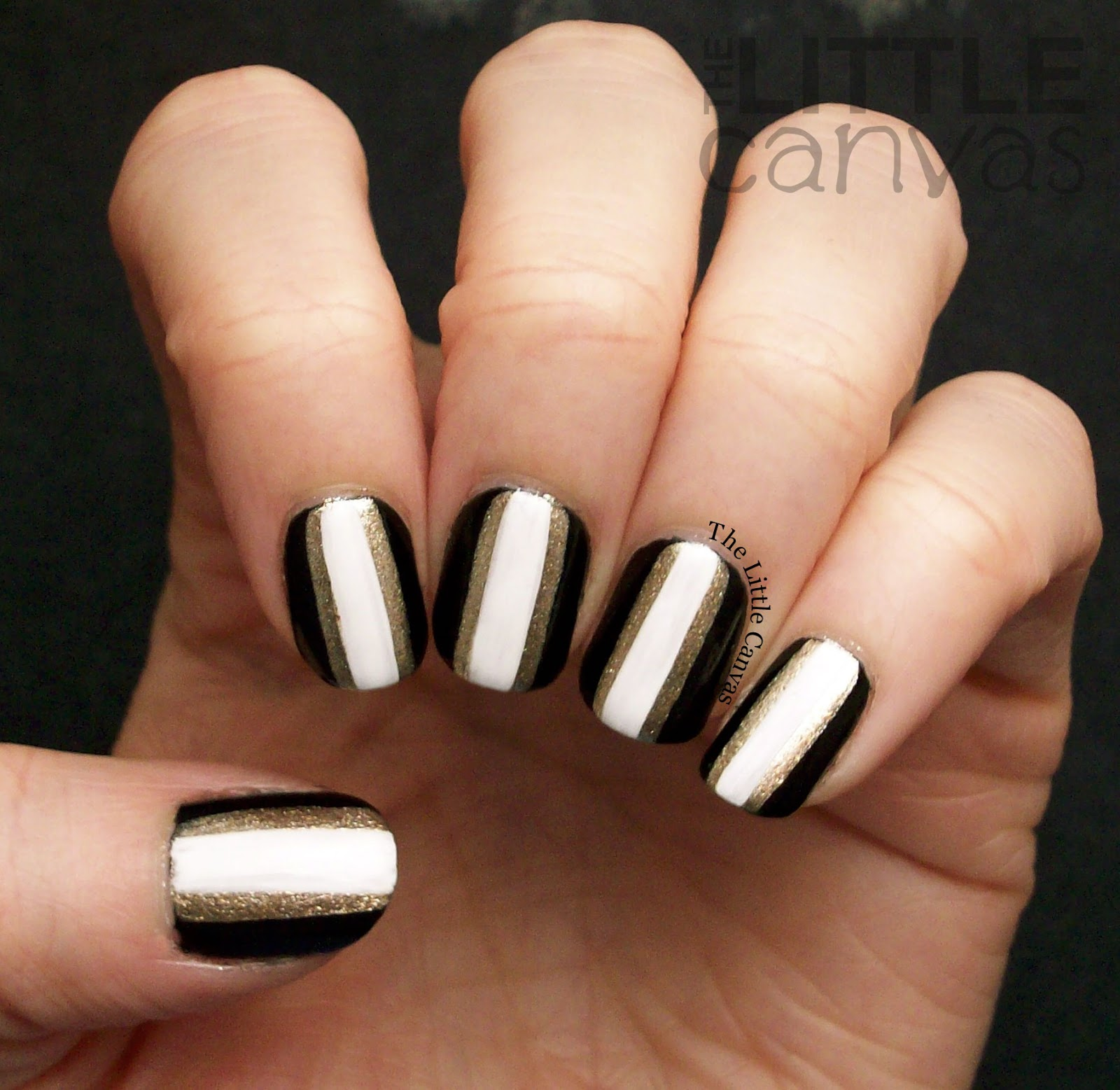 Bestie Twin Nails With Fashion Footing! Round 20! - The Little Canvas