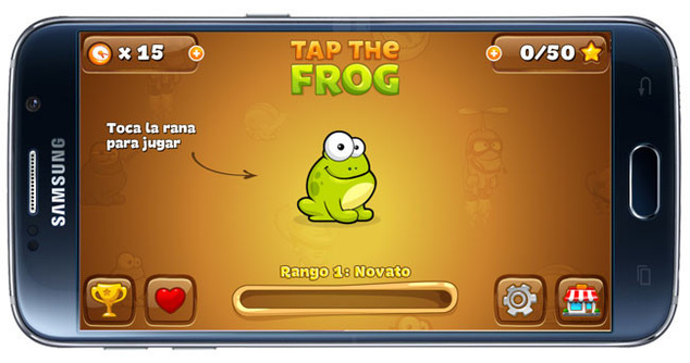 Have fun with frogs in Android game 'Tap the Frog'