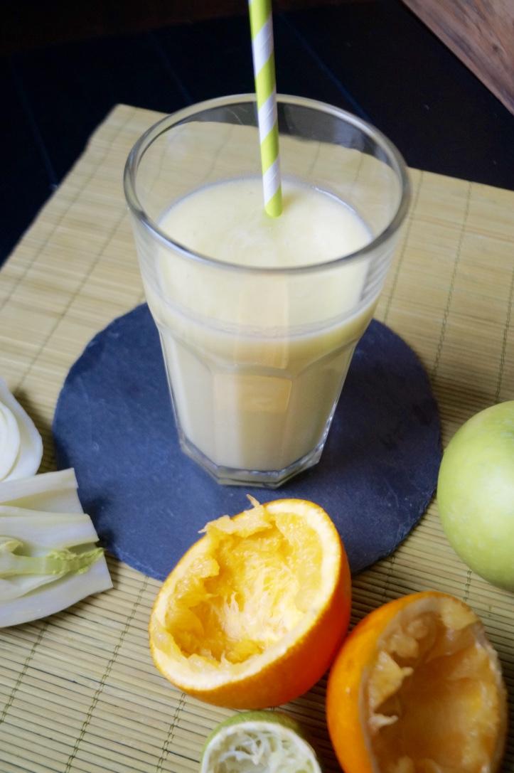 smoothie la pomme verte fenouil orange et citron vert. Black Bedroom Furniture Sets. Home Design Ideas