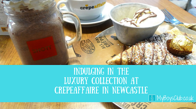 Indulging in the Luxury Collection at Crêpeaffaire in Newcastle