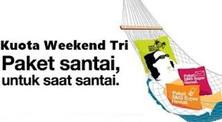 Apa Itu Kuota Weekend 3 Tri Dan Cara Menggunakan