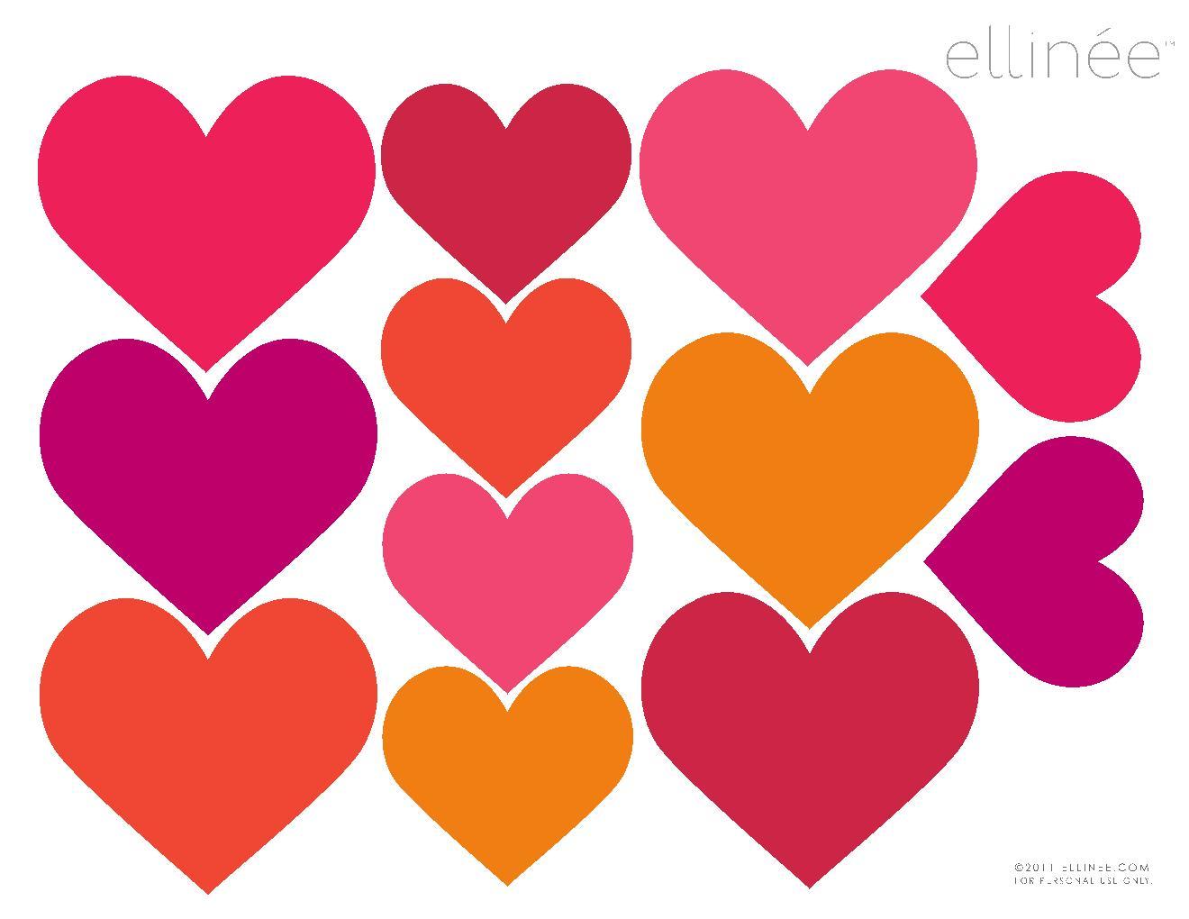 En çok Aranan Kalp Boyama Kalıp Yazdırılabilir Boyama Sayfaları
