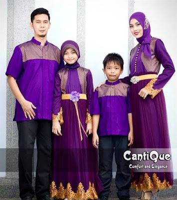 Model baju keluarga