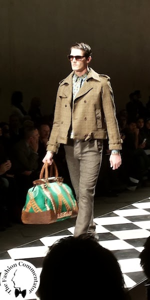 Pitti 85 - Stella Jean Fall Winter 2014 Menswear collection