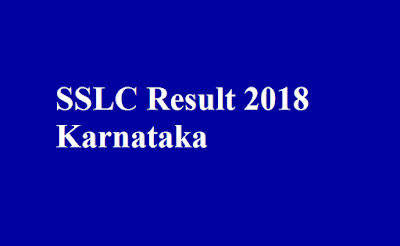 SSLC Result 2018 Karnataka