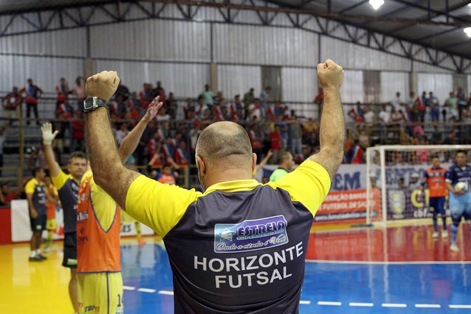 ddb6c565a1 Horizonte goleia bonito em seu segundo jogo da Copa TVM de Futsal.