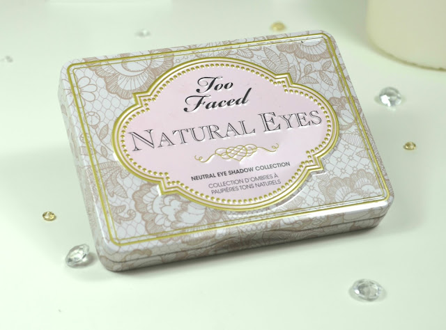 Too Faced - Natural Eyes - New Version - Swatches - Review - matte shades - natural shades - glitter shades - eyeshadow - make up