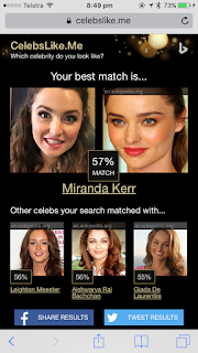 My Celebrity Match - Miranda Kerr