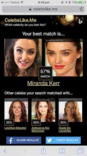 My Celebrity Match - Miranda Kerr