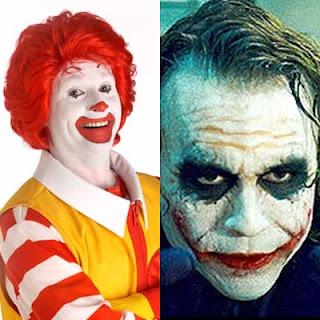 Ronald MacDonald Vs Joker