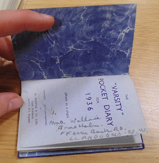 1936 Pocket Diary of Kenneth Clifford Howard (National Archives - KV 2/27)