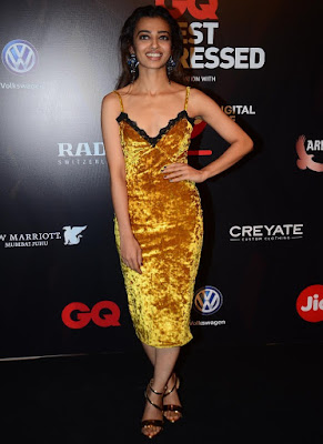 Radhika Apte GQ Best Dressed Awards 2017