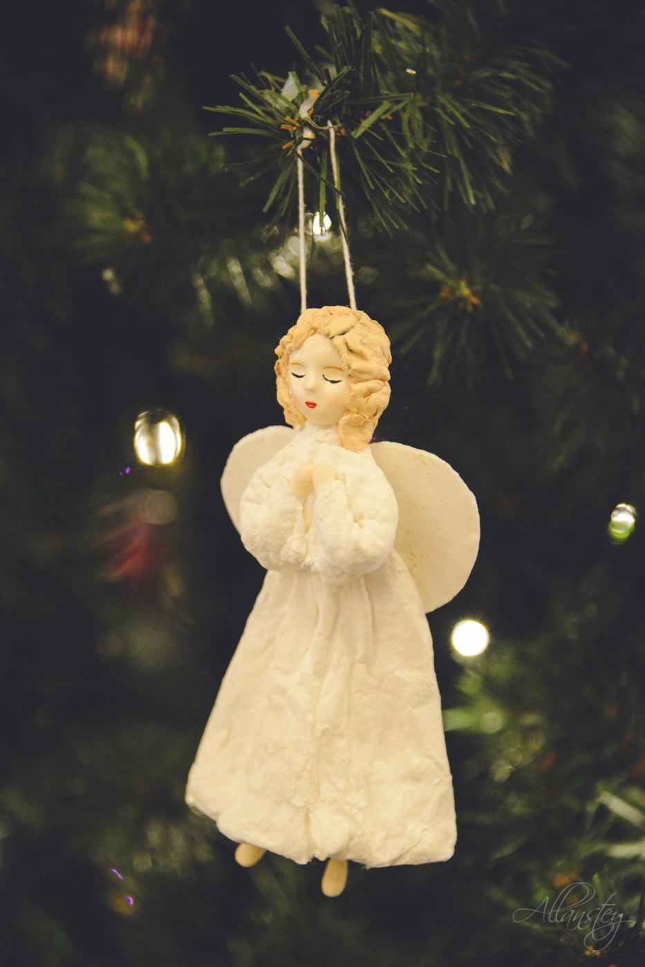 Christmas angel decoration