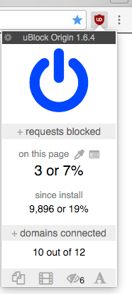 uBlock%2BOrigin Best Adblock Extension for Google Chrome or Firefox iOs