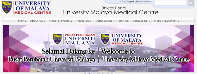 Rasmi - Jawatan Kosong (PPUM) Pusat Perubatan Universiti Malaya 2019