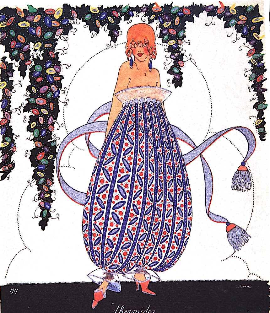 an illustration bt Romme 1917