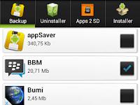 Cara Backup Aplikasi Android Menjadi File Apk