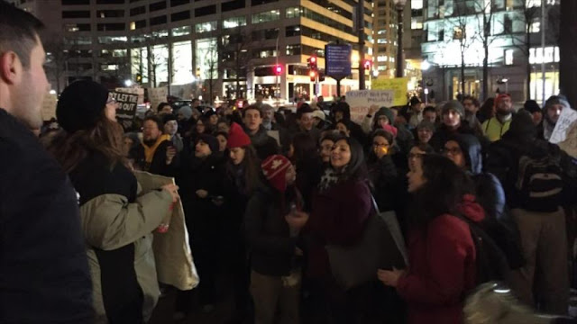 "Judíos protestan en Washington contra ""terrible"" racismo de Trump"