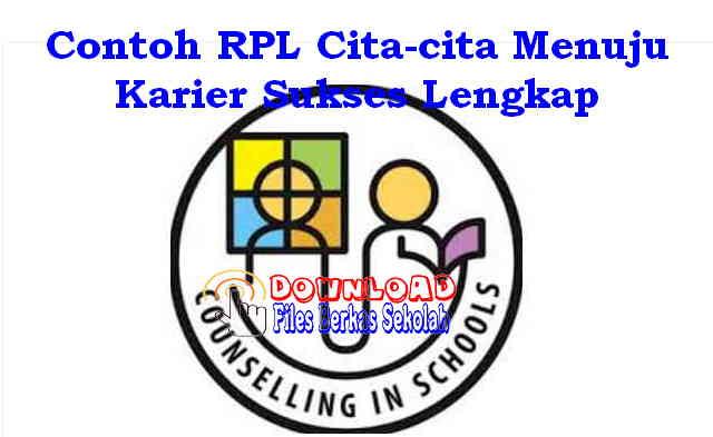 Download Contoh RPL Cita-cita Menuju Karier Sukses Lengkap Format Word