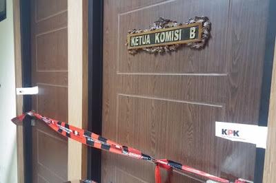 Ruang Ketua Komisi B DPRD Jatim Disegel, 3 PNS Dibawa KPK