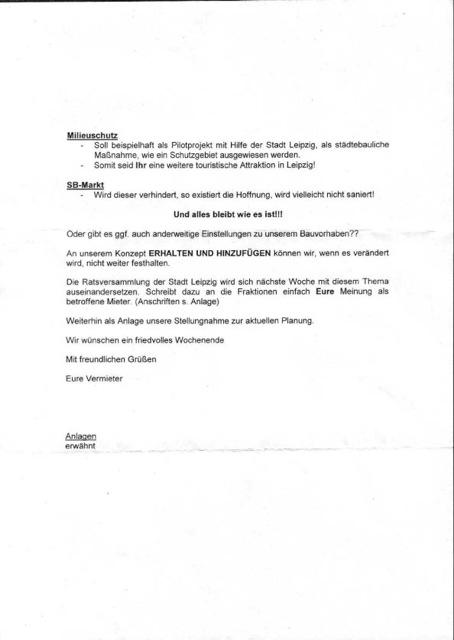 Dein Kiez Offener Brief Des Eigentümers An Seine Mieter
