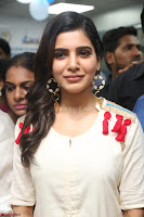 Samantha Ruth Prabhu Smiling Beauty in White Dress Launches VCare Clinic 15 June 2017 047.JPG