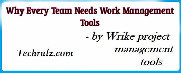 Why Every Team Needs Work Management Tools