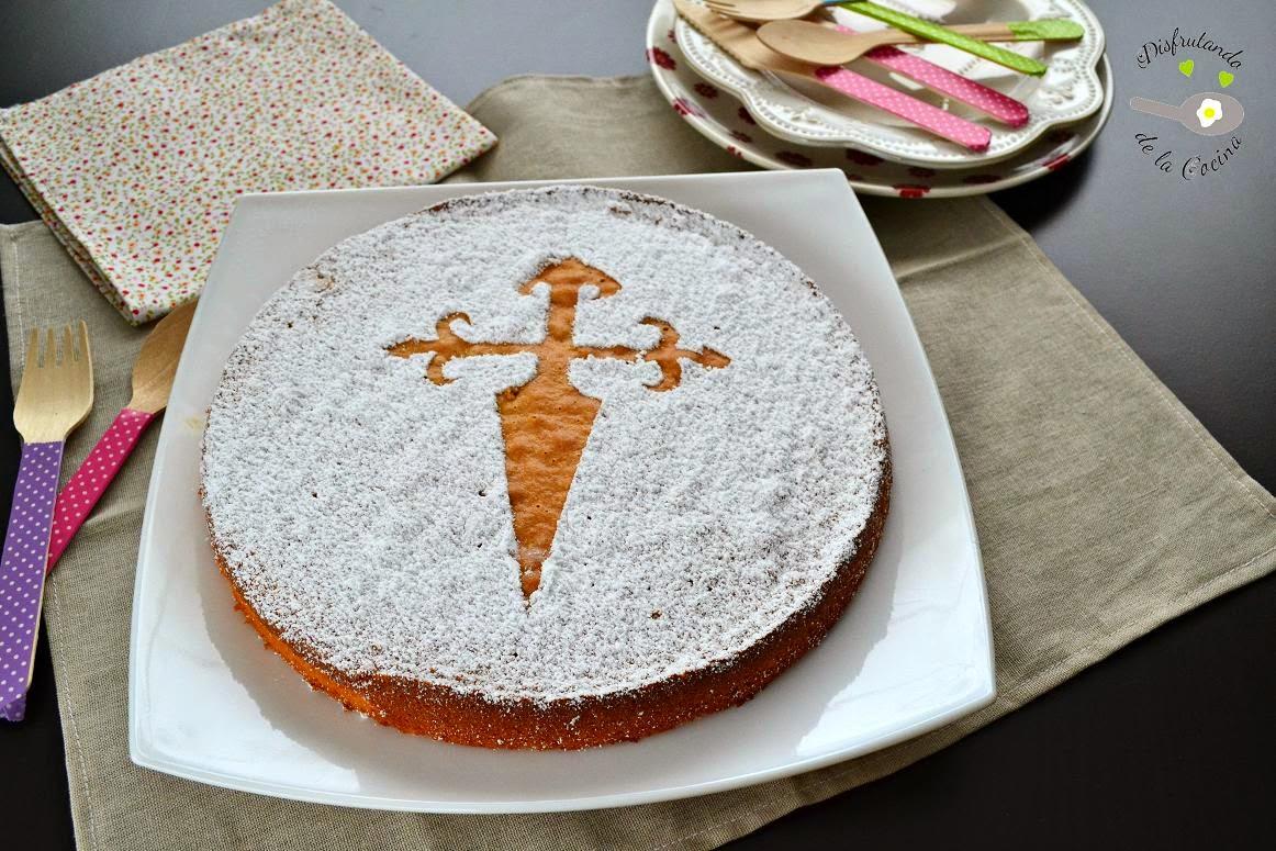 Tarta de Santiago (Postre fácil)