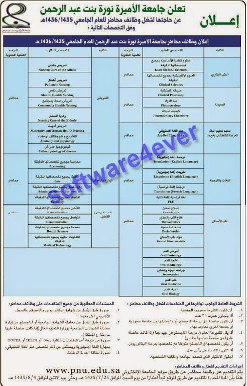 وظائف جريدة الرياض 24/5/2014 - وظائف السعودية اليوم ...