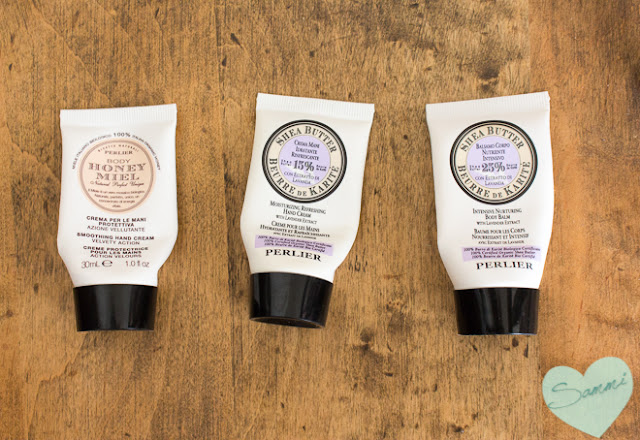 PERLIER | Various Hand Creams and Body Balms ($21 | 3.3oz and $60 | 16.9oz)