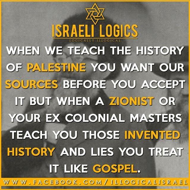 Uprooted Palestinian: Israeli Logics