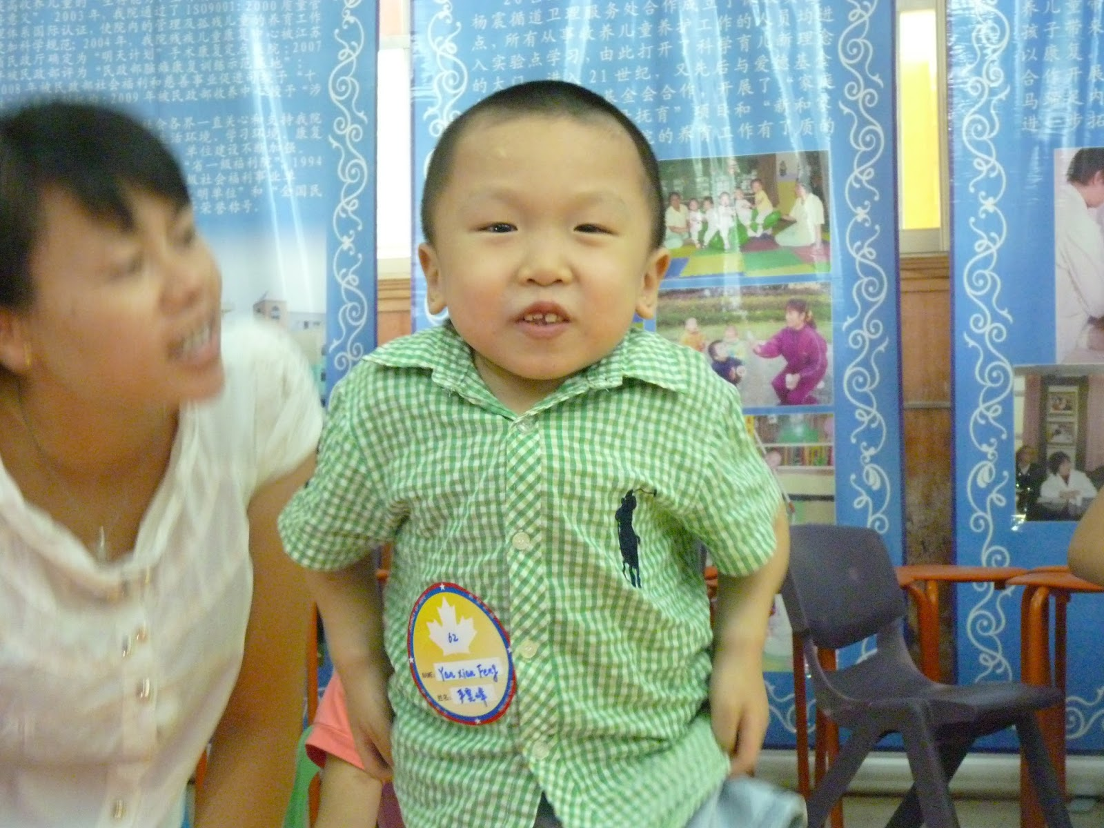 2 Years Old From China He Has Oi  And Is Described As Being Very Smart And Friendly He Has Had Many  Discussions With