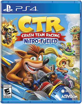 Crash Team Racing Nitro Fueled Game Cover Ps4