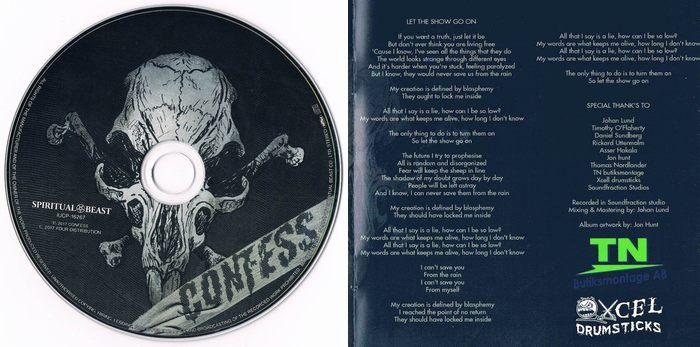 CONFESS - Haunters [Japan Edition +2] (2017) disc