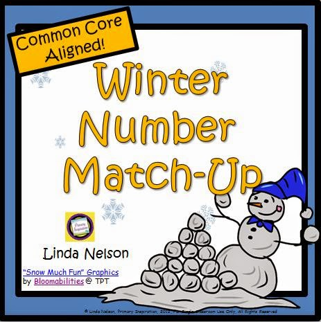 http://www.teacherspayteachers.com/Product/Winter-Number-Match-Up-459522