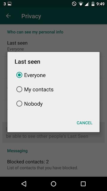 Cara Agar Whatsapp Terlihat Offline