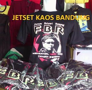 Pusat Pembuatan Kaos Sablon Murah Jakarta bandung