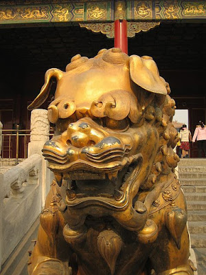 gold dragon china