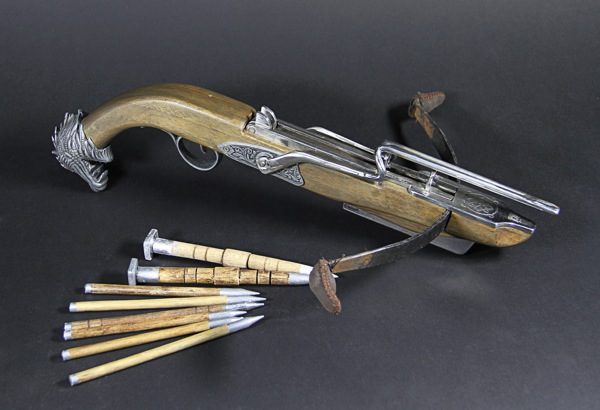 Hermann Kruger crossbow and stakes Dracula